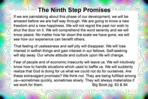 9th step promises